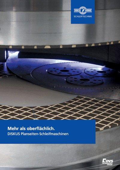 Übersicht DISKUS Planseiten-Schleifmaschinen