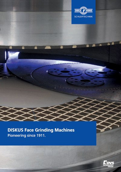 Overview DISKUS Face Grinding Machines
