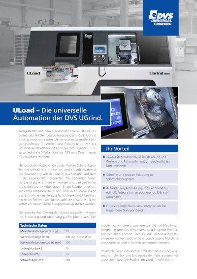DVS UGrind - ULoad