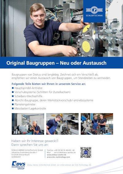 DISKUS WERKE Servicebroschüre