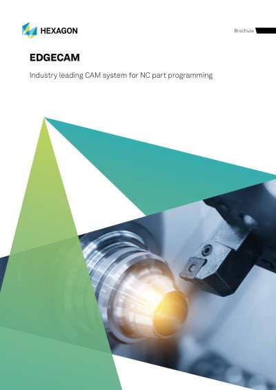 Industry leading CAM system for NC part programming