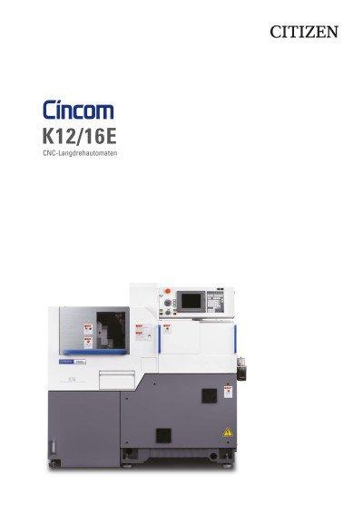 Cincom K12/16E