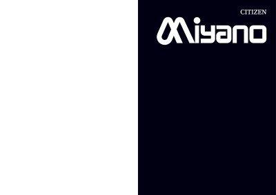 Miyano Produktbroschüre