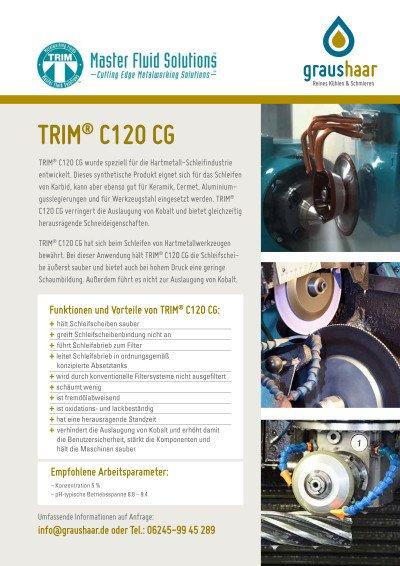 Trim C120CG - KSS für Hartmetall-Bearbeitung