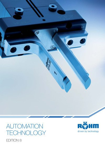 Automation technology - Gripping technology