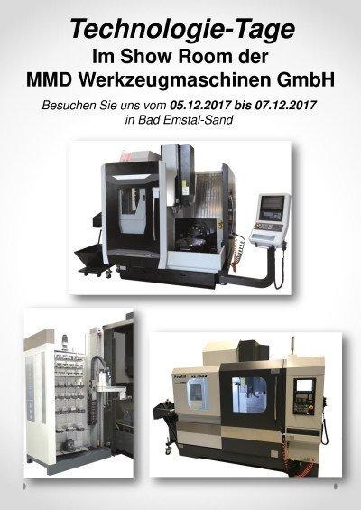 Technologie-Tage Im Show Room der MMD Werzeugmaschinen GmbH