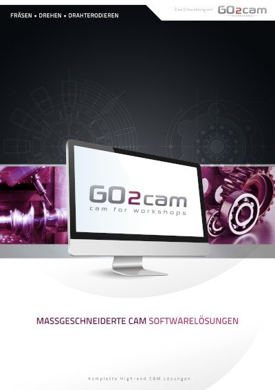 GO2cam: CAM für die Werkstatt