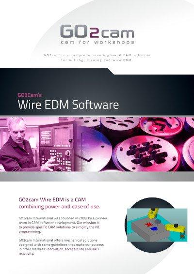 GO2cam Wire EDM