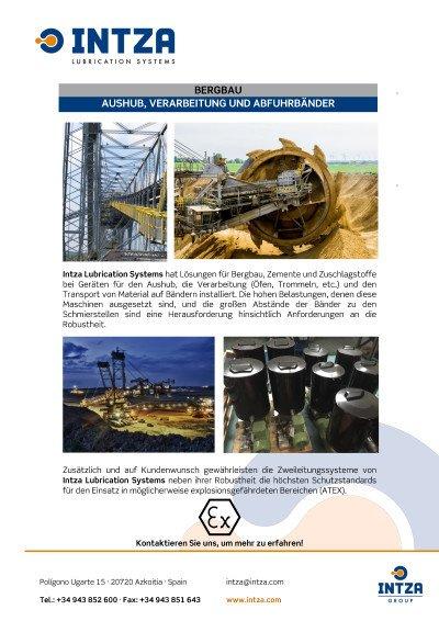 Anwendung für Bergbau
