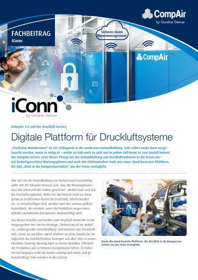 Industrie 4.0 und der Druckluft-Service - Digitale Plattform für Druckluftsysteme