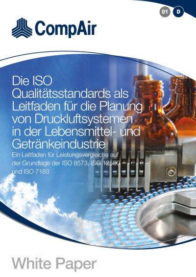 Die ISO Qualitätsstandards als Leitfaden für die Planung von Druckluftsystemen in der Lebensmittel- und Getränkeindustrie