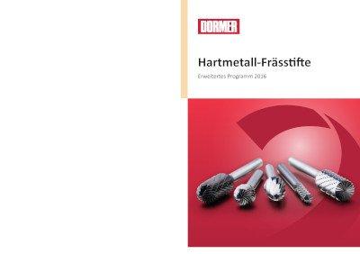 Hartmetall Frässtifte