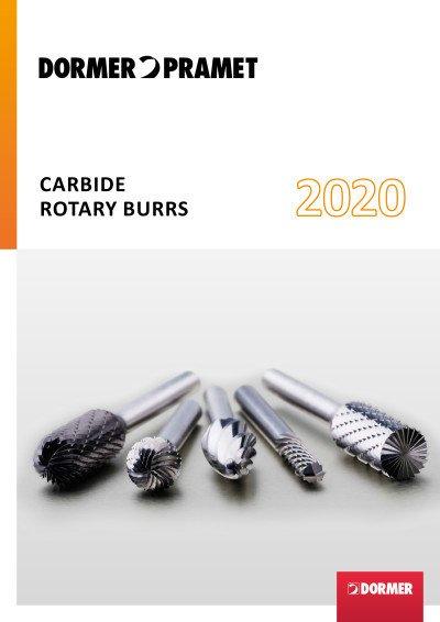 Dormer Carbide burrs 2020