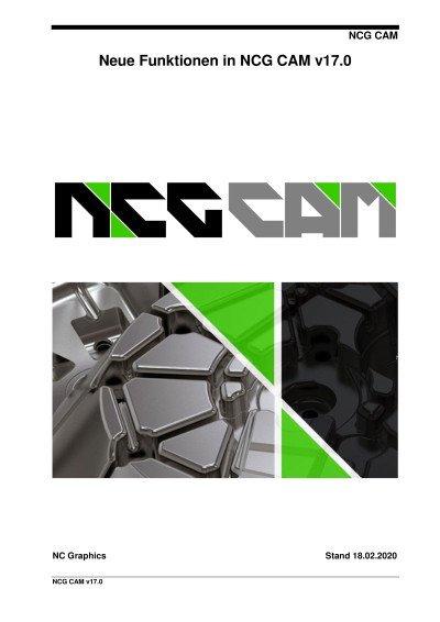 NCG CAM neue Funktionen