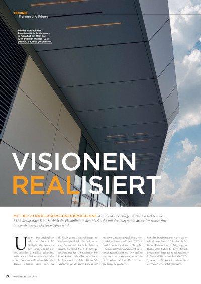 VISIONEN REALISIERT (LC5/ELECT 63 F.W. Stiebich) veröffentlicht bbr Juni2019