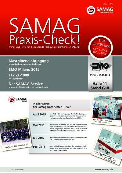 SAMAG Praxis-Check! 2/2015