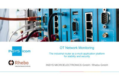 OT Network Monitoring: The industrial router as a multiapplication platform for stability and security