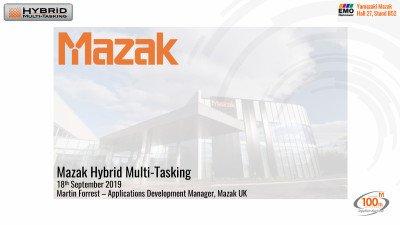 Mazak Hybrid Multi-Tasking