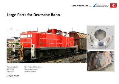Large Parts for Deutsche Bahn