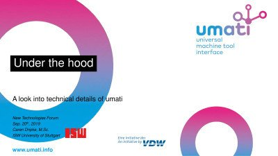Under the hood: A look into technical details of umati