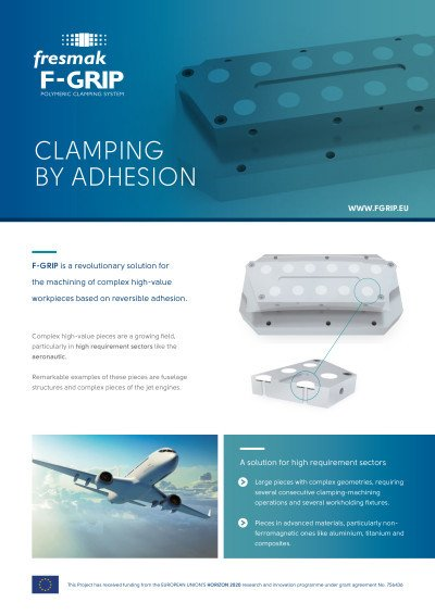 F-GRIP Clamping by Adhesion