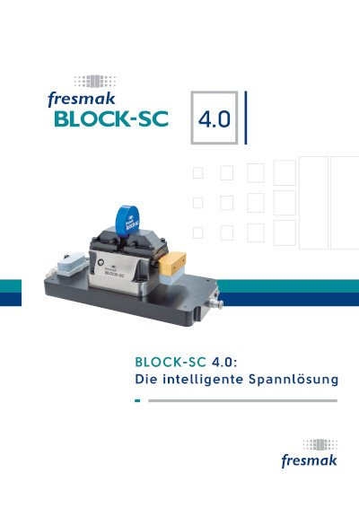 BLOCK-SC Selbstzenzentrierende Kraftspannblöcke