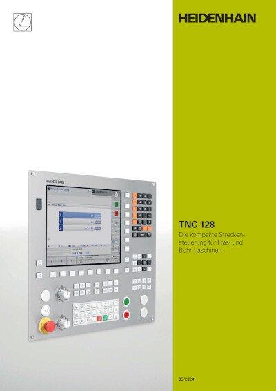 TNC 128 – Die kompakte Streckensteuerung für Fräs- und Bohrmaschinen