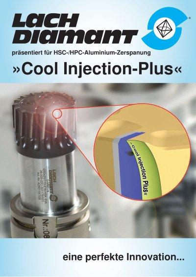 »Cool Injection« (Pat.) Kühlung direkt