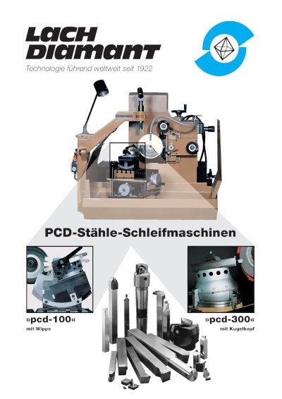PCD-Stähle-Schleifmaschinen/ »pcd-100«/ »pcd-300«