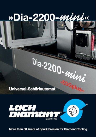 »Dia-2200-mini«  Universal-Schärfautomat