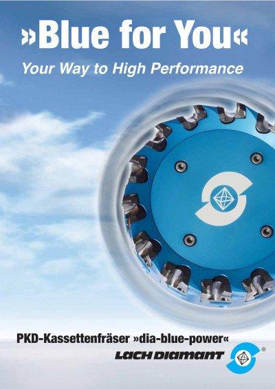 PKD-Kassettenfräser »dia-blue-power«