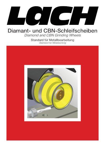 Diamant- und CBN-Schleifscheiben Standard für Metallbearbeitung