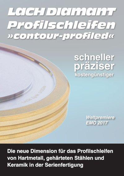 Profilschleifen »contour-profiled«