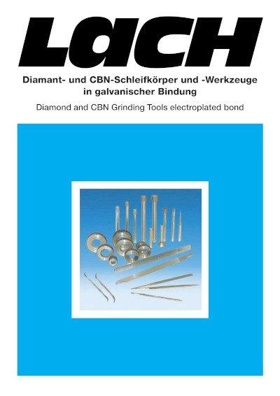 CBN-Präzisions-Schleifstifte G-MX 500 für Innenschleifen von HSS und gehärteten Stählen ab HRc 55