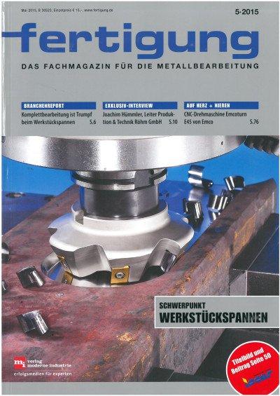 CNC-Drehmaschine E45 von Emco - Kompakt und vielseitig - Fertigung 5/2015