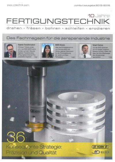 Den Dreh raus - X-Technik Jubiläumsausgabe 2015/16