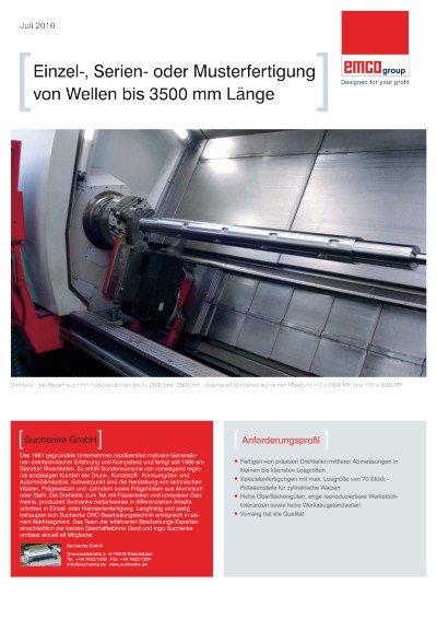 Anwenderbericht Suchanke GmbH