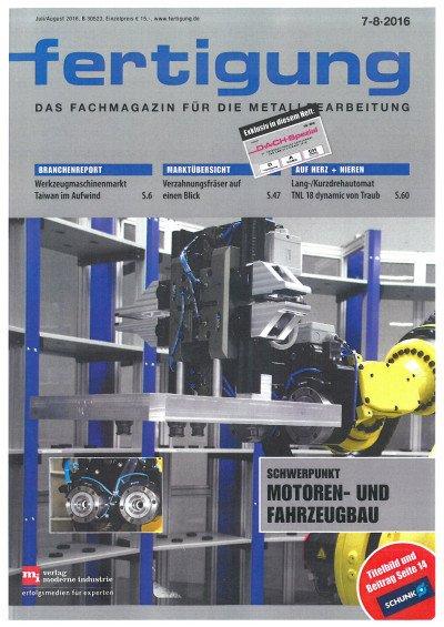 Stabiler Prozessprofi - Fertigung 7|8/2016