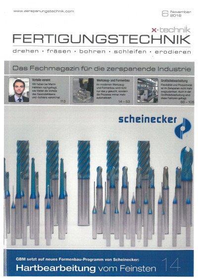 Technologiesprung vollzogen - X-Technik Fertigungstechnik 06/2016