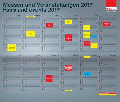 Messekalender 2017