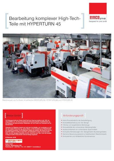 Anwenderbericht Brisker GmbH