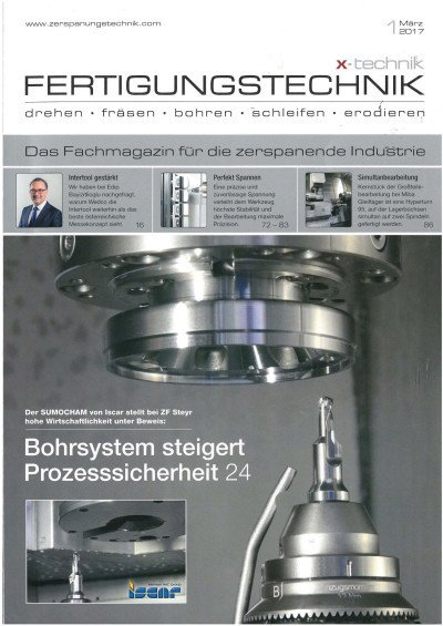 Automatisierte Simultanbearbeitung - X-Technik Fertigungstechnik 03/2017