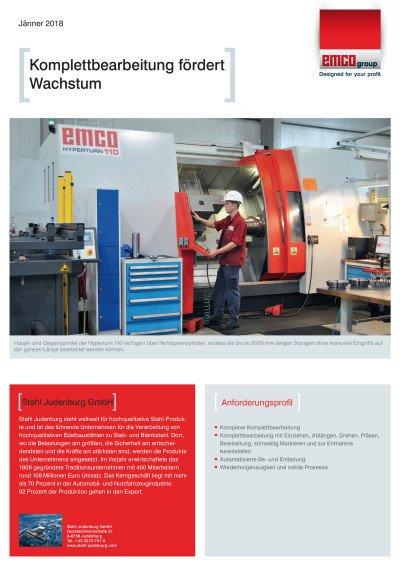Anwenderbericht Stahl Judenburg GmbH