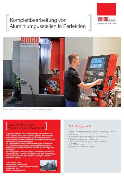 Anwenderbericht Günter Friedrich GmbH