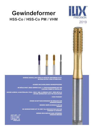 Gewindeformer HSS-Co / HSS-Co PM / VHM