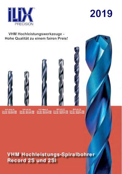 VHM Hochleistungs-Spiralbohrer von 3xD bis 8xD
