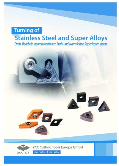 Turning of Steinless Steel and Super Alloys