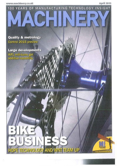 Peddling high-tech kit - Machinery April 2015