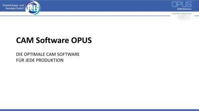 OPUS CAM Software