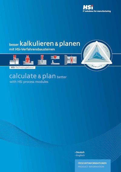 Broschüre der HSi-Produktinformationen
